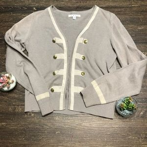 CAbi Military inspired cardigan